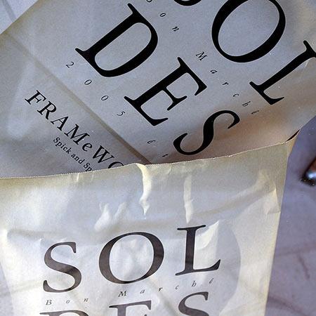 Soldes vs. ventes privées
