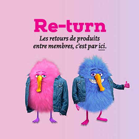 Veepee Return